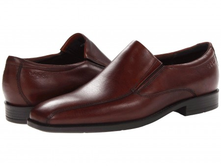 ECCO ECCO Edinburgh Bike Toe Slip On Mink Kalahari