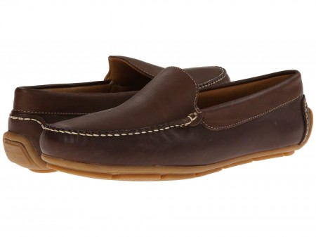 Minnetonka Minnetonka Venice Driving Moc Dark Brown Smooth Leather
