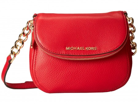 Michael Kors Bedford Flap Crossbody Chili