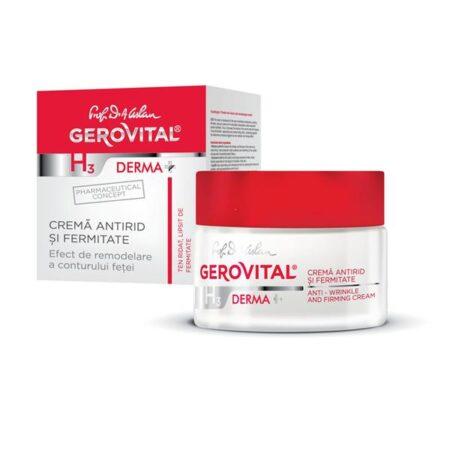 Cremă Antirid și Fermitate • Gerovital H3 Derma+
