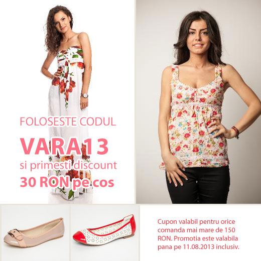 30 RON Discount Vara13