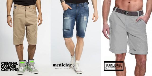 Pantaloni scurti bermude barbati